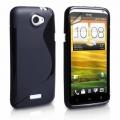 HTC One X Svart S-Line Skal