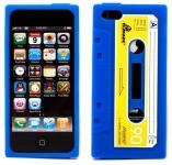 iPhone 5 Kassettskal Blå