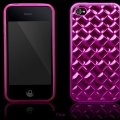 Elite Series Rosa TPU Skal iPhone 4S