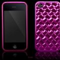 Elite Series Rosa TPU Skal iPhone 4S