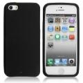 iPhone 5 Svart Silikon