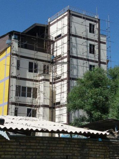 نقاشی ساختمانی نما در تهران