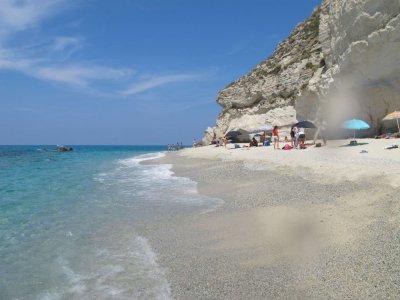 Stranden i Tropea