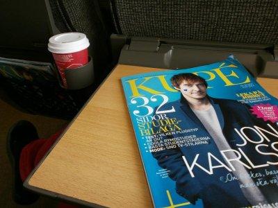På tåg med Jonas Karlsson