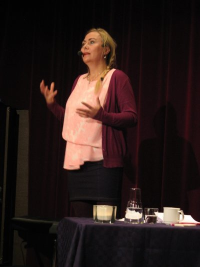 Anita Jacobson Kulturmagasinet PoesY