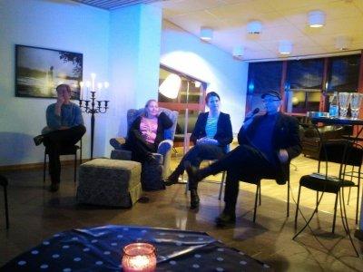 Författarframträdande i Piteå