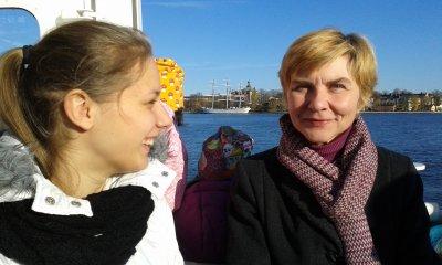 Jevgenia Prakaptjuk och Tamara Mikhatjuk