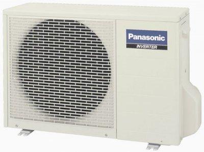 Utedel på Panasonic luftvärmepump.