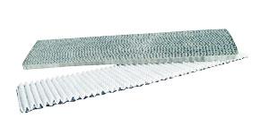 Luftvärmepumpsfilter, som skall rengöras regelbundet.