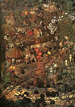 link to larger version of The Fairy Feller's Master Stroke by Richard Dadd ]