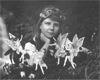 Cottingley Fairies * see footnote for copyright information