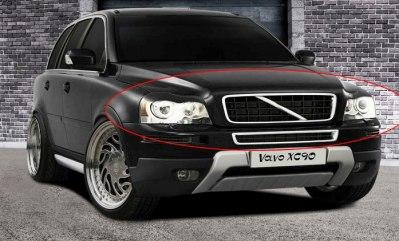 Våra egenframtagna ögonlock i ABS-plast Volvo XC90