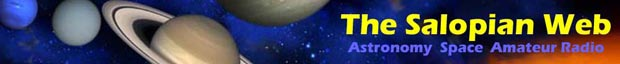 Salopian Web Astronomt and Amateur (Ham) Radio