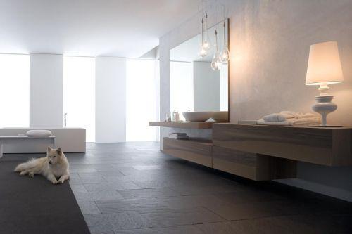 elegant och klassiskt badrum