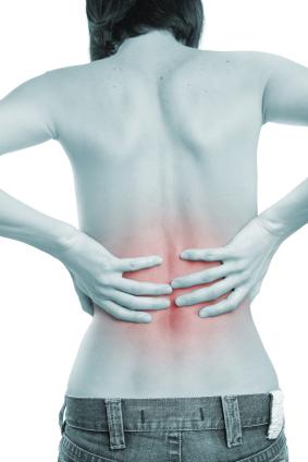 mens ont i ryggen