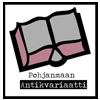 Pohjanmaan antikvariaatin -logo