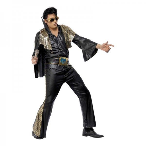 Klä ut den blivande brudgummen till Elvis.