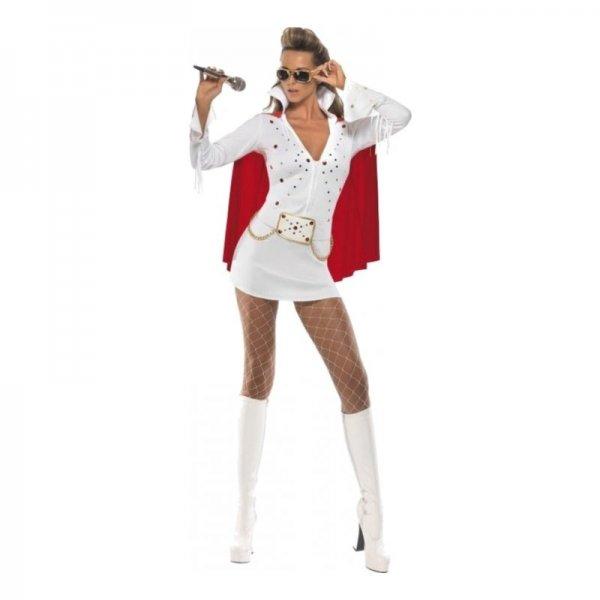 Klä ut den blivande bruden till en kvinnlig Elvis.