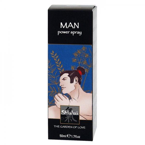 Shiatsu Man Power ett bra stimulerande medel för män.