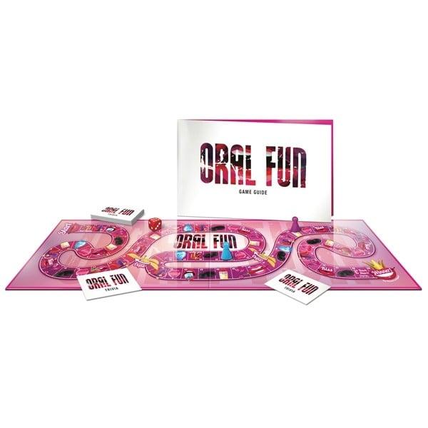 Ett erotiskt spel för par som gillar oralsex.
