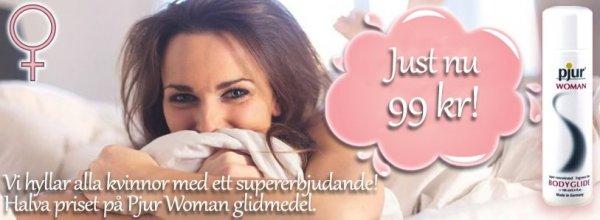 Pjur Woman  - bästa glidmedlet för kvinnor.