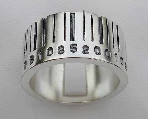 silversmycken herr ring