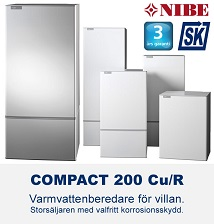 NIBE Compact 200 varmvattenberedare