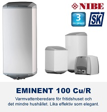 NIBE Eminent 100 varmvattenberedare