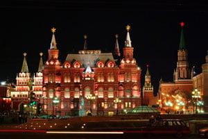 Fasadbelysning Moskva