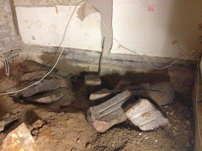 Gräva ur krypgrund till källare
