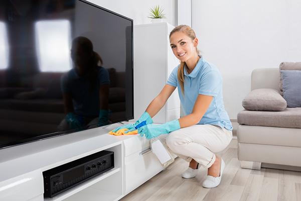 städning tv
