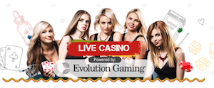 Livecasino spel