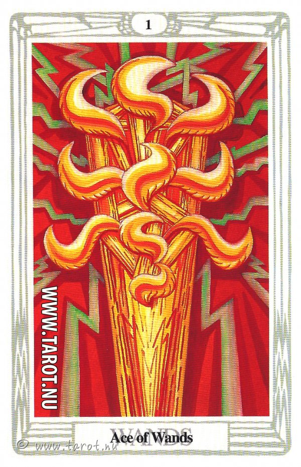 Ess i Stavar - (Ace of Wands)