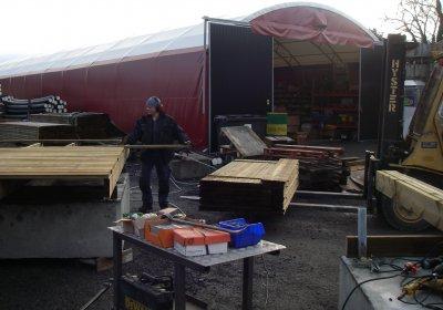 här bygger timbobryggan träbetongbryggor