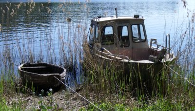 timbobryggans arbetsbåt