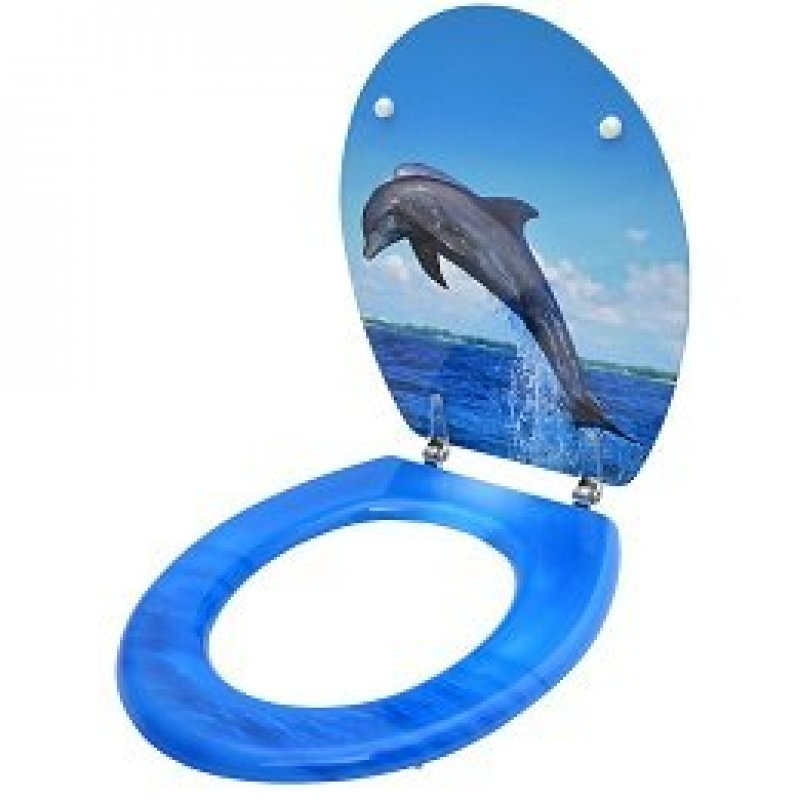 Two Dolphins Designer Toilet Seat Toilet Seats For Sale