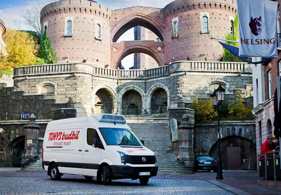 Tonys Budbil är din budfirma i Helsingborg