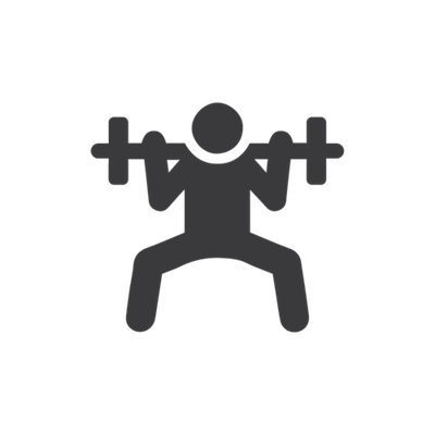 Gym Weight lifting-icon