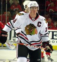 Chicago Blackhawks Hockey Player