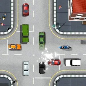 Driving theory test game
