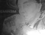 Närbild på Eminem