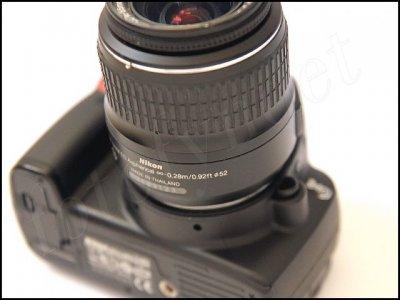 52mm UV-filter för Nikon