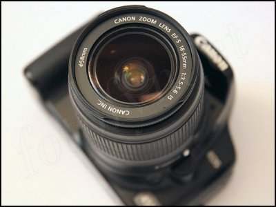 Canon EF-S 18-55 mm 58 mm filtergänga