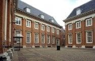 Amsterdam museets gård