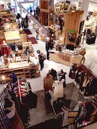 Loppmarknad i New York
