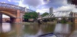 Castlefield från Bridgewater Canal