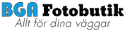 BGA Fotobutik logotyp
