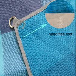Sandfri strandmatta/strandfilt