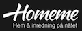 HomeMe logotyp