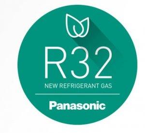 Panasonics nya miljövänliga köldmedium R32